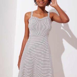 LOFT Dresses - Loft Strappy stripped dress